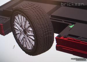 LEGO Camry digital design