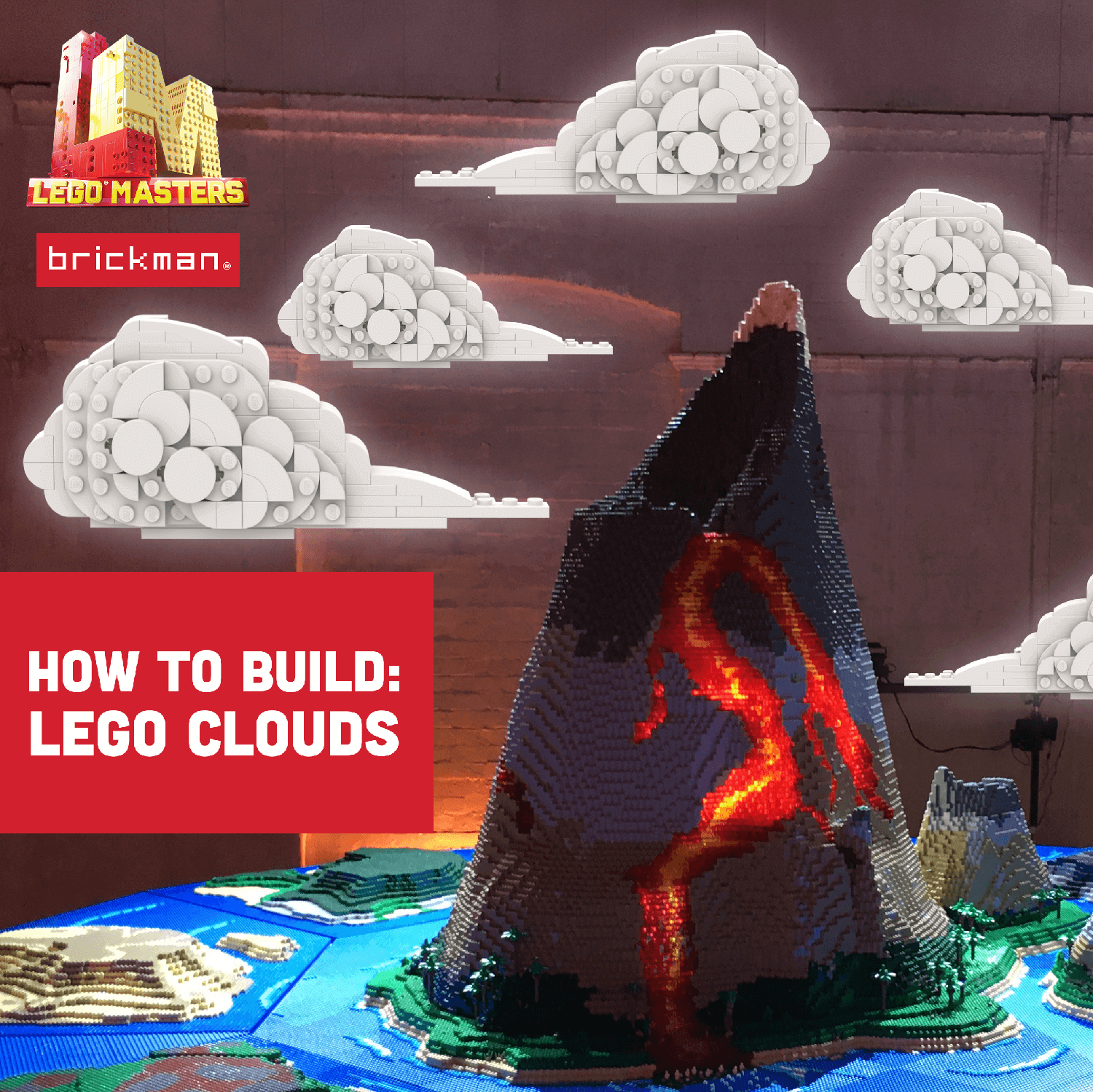 Build your own LEGO Masters Clouds!