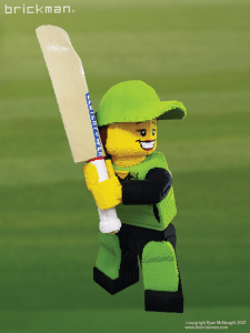 Highpoint Cricket LEGO minifig 01