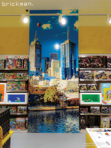 Highpoint LEGO store mosaic