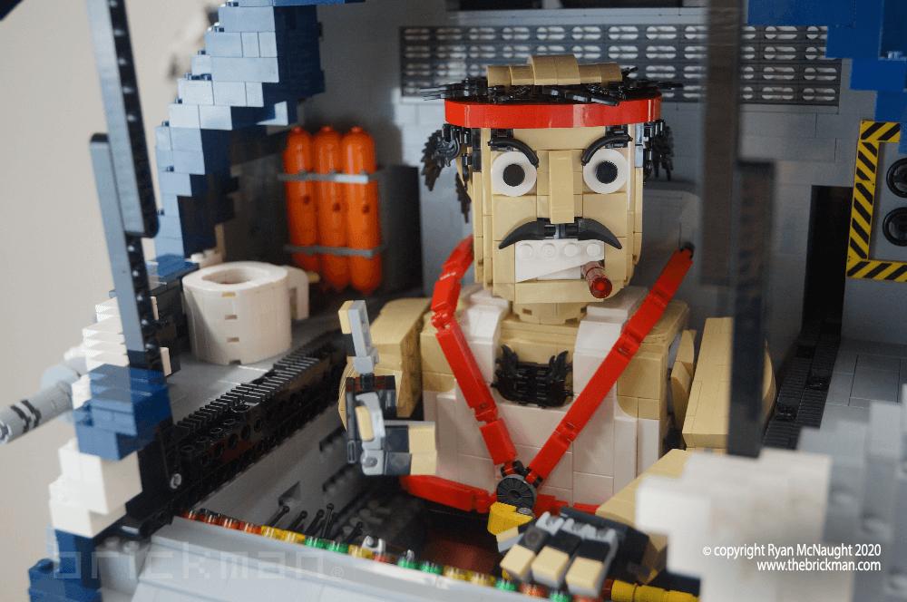 LEGO Battlemech Timberwolf Cockpit
