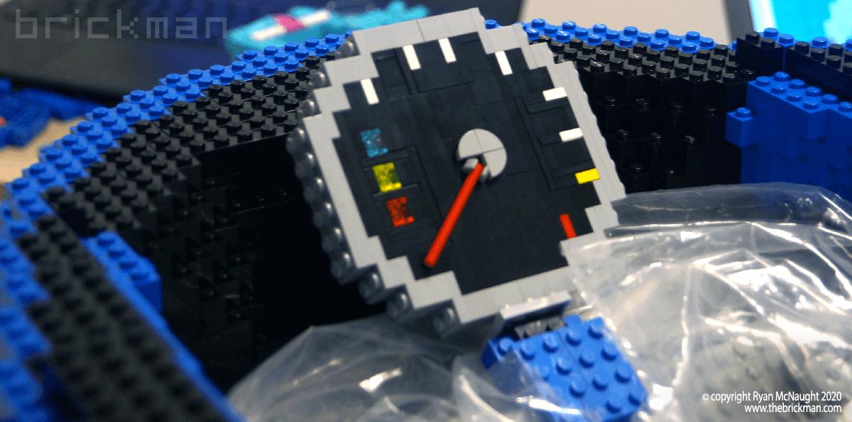 LEGO Britten speedo WIP
