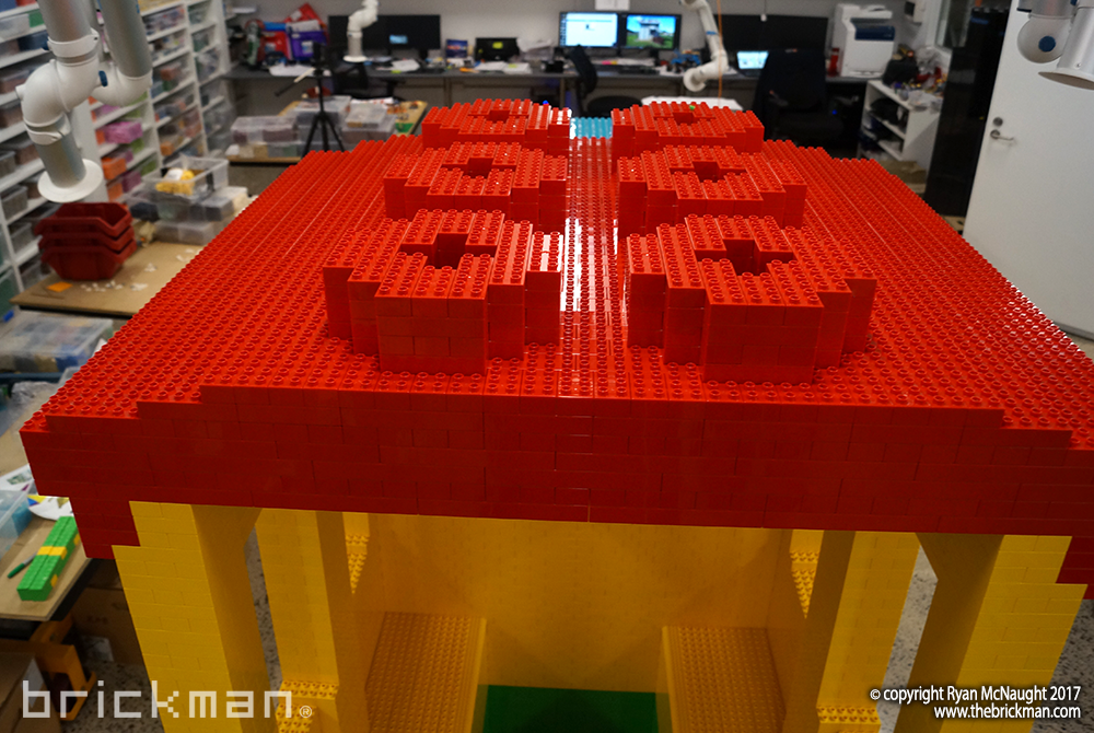LEGO DUPLO train roof