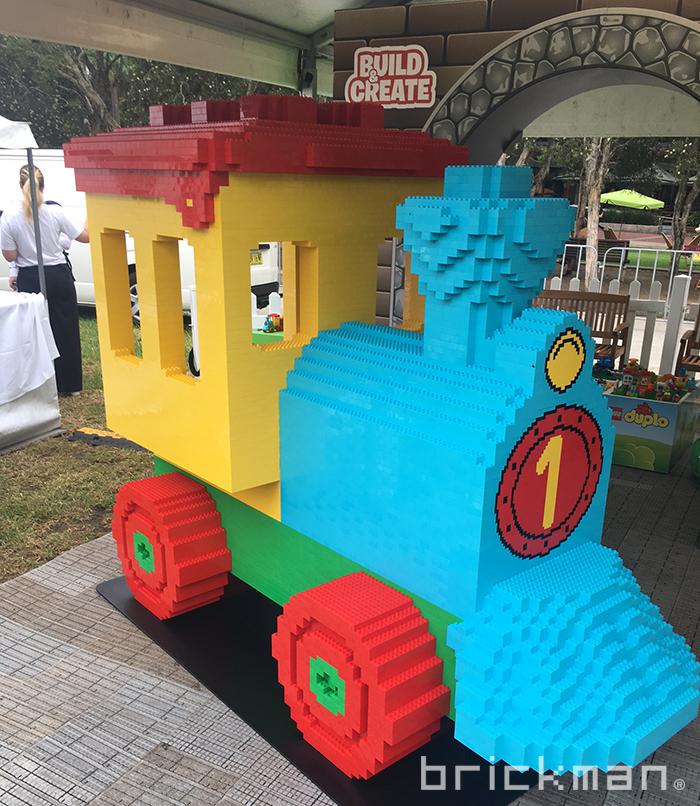 LEGO DUPLO Train on display