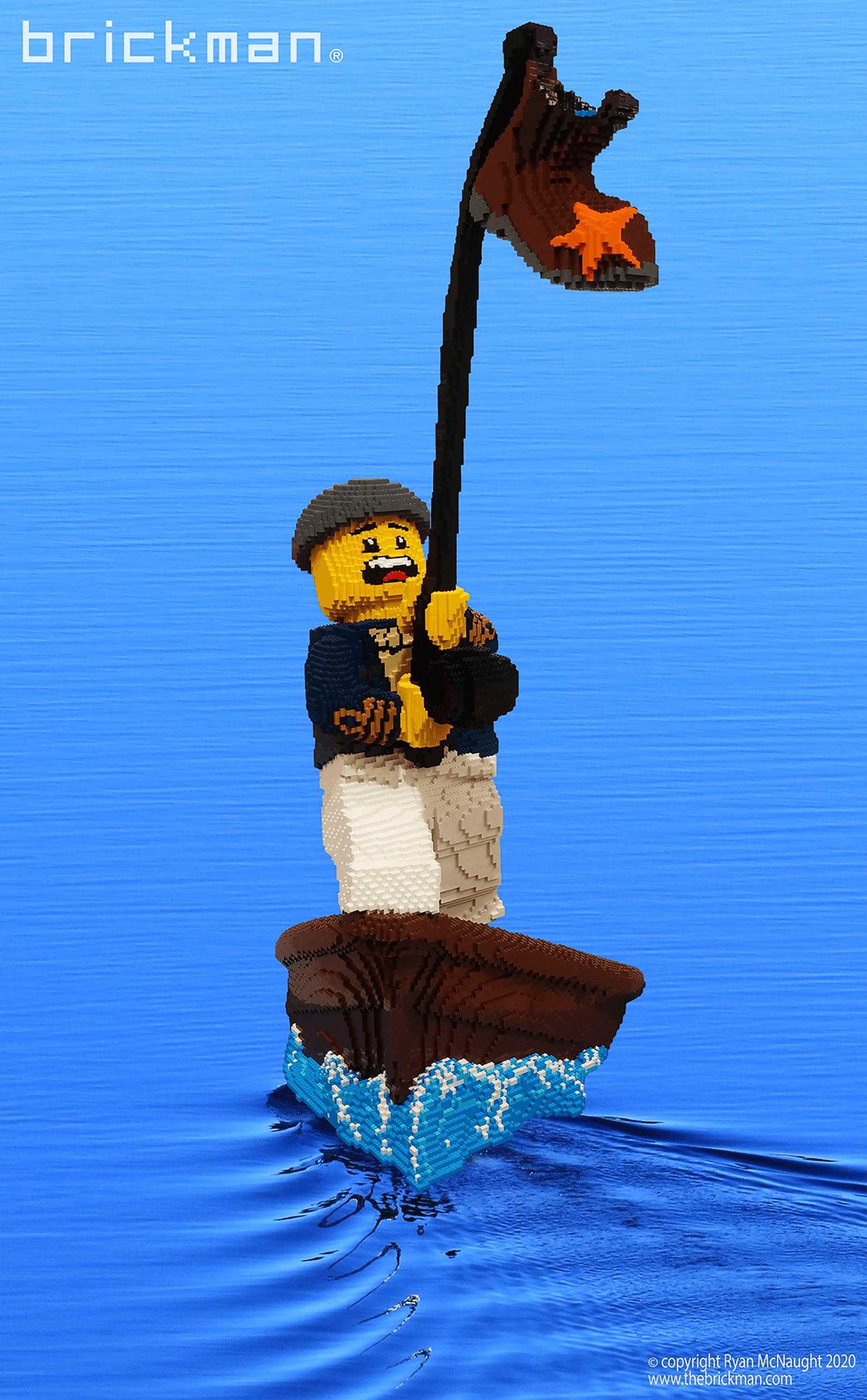 LEGO brick Frank Fishreman