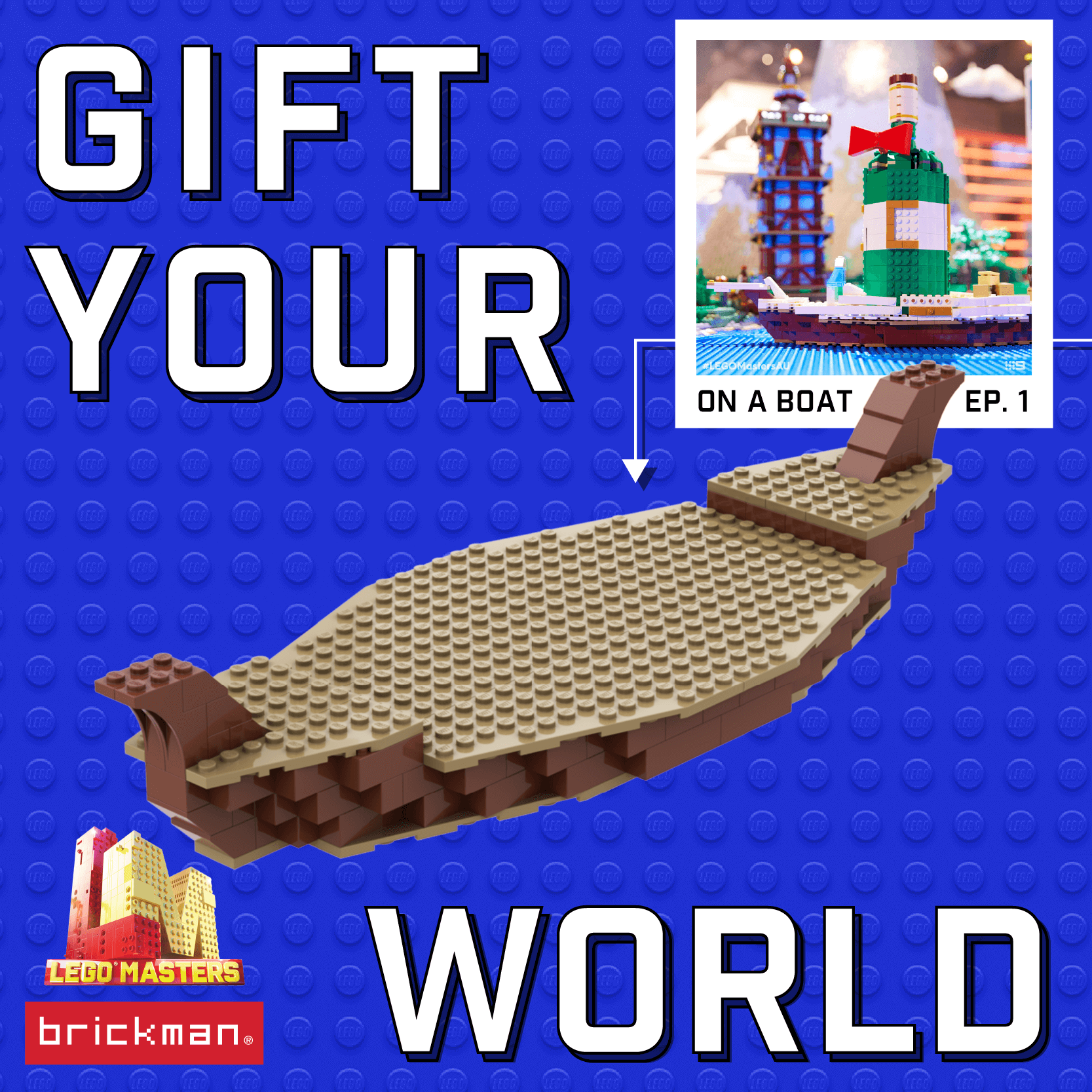 LEGO Masters Australia Gift Boat instructions