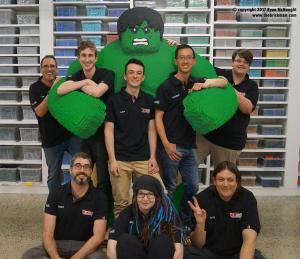 Dreamworld Hulk Brickman Team