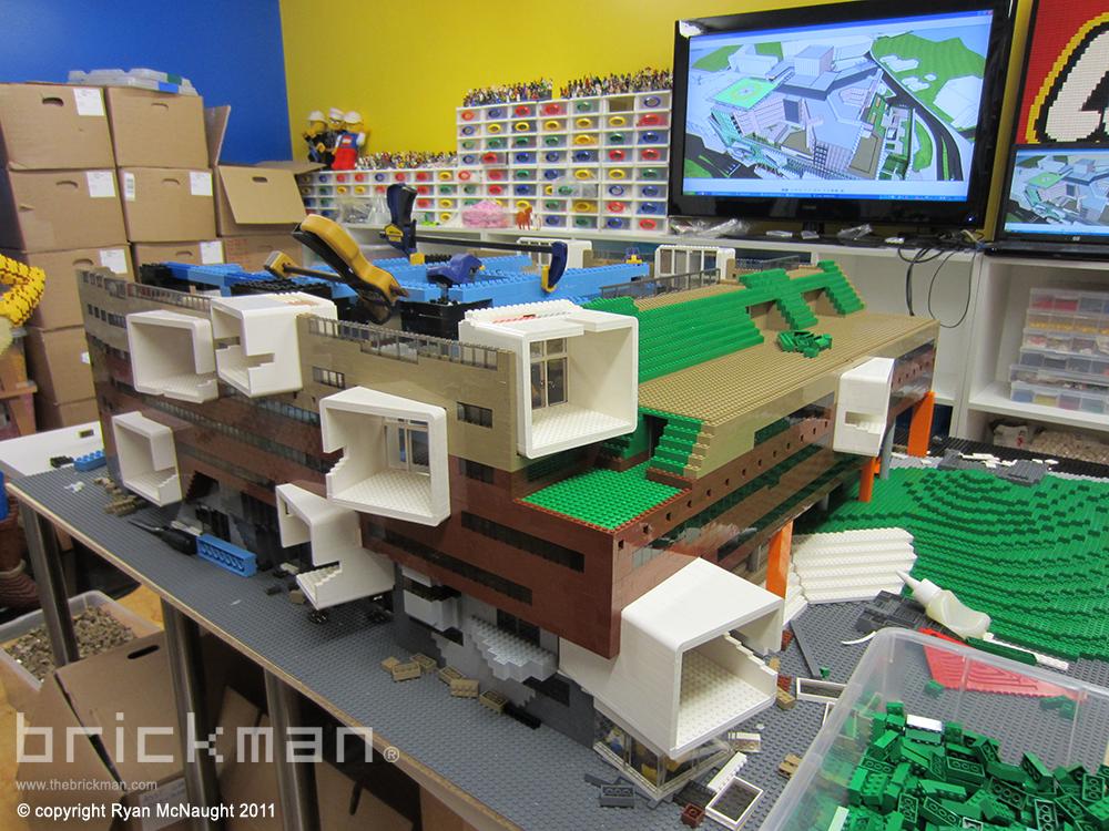 LEGO brick Brisbane Hospital 2