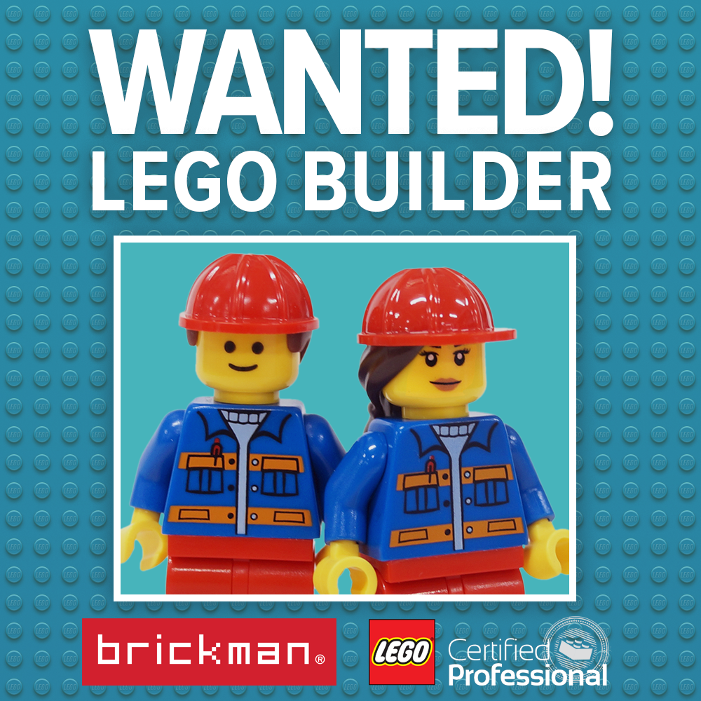 Wanted: LEGO Builder!