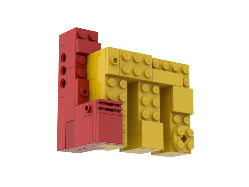 Build your own Lego Masters Logo level up