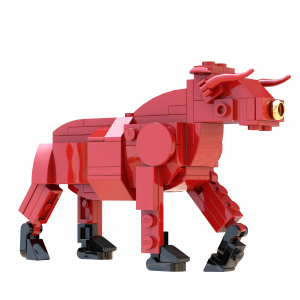 Chinese New Year Ox LEGO model