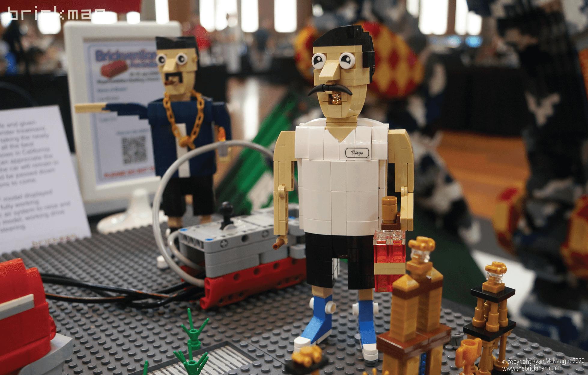 Los Brickos LEGO brick Lowrider Diego Sanchez