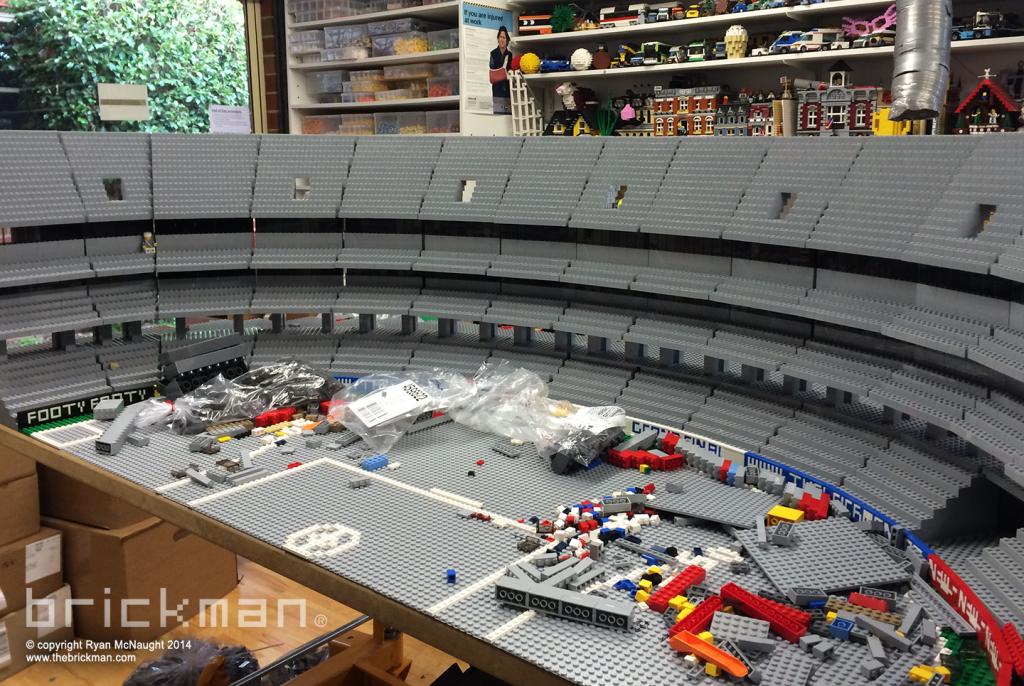 Lego MCG build 1