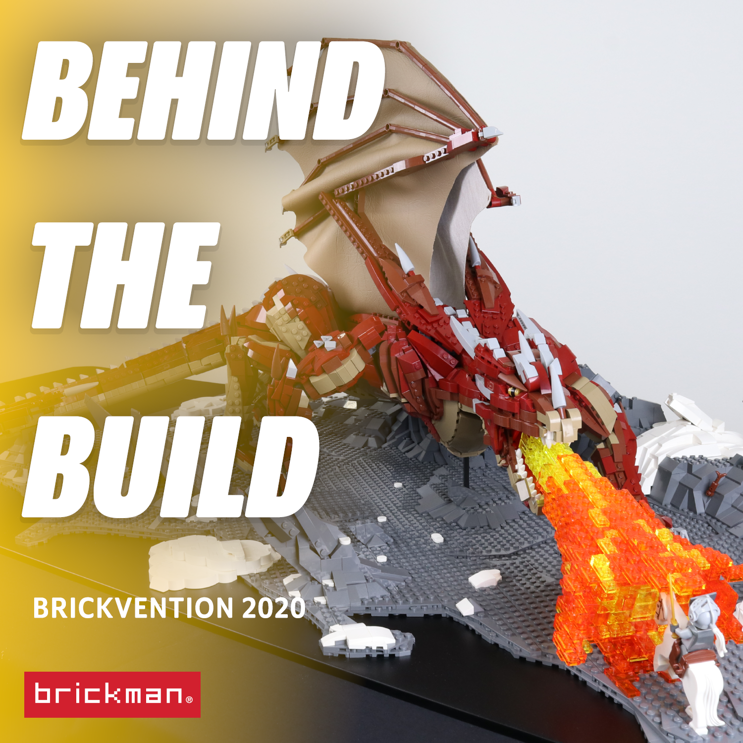 Brickvention 2020 Spotlight: LEGO® Brick Dragon