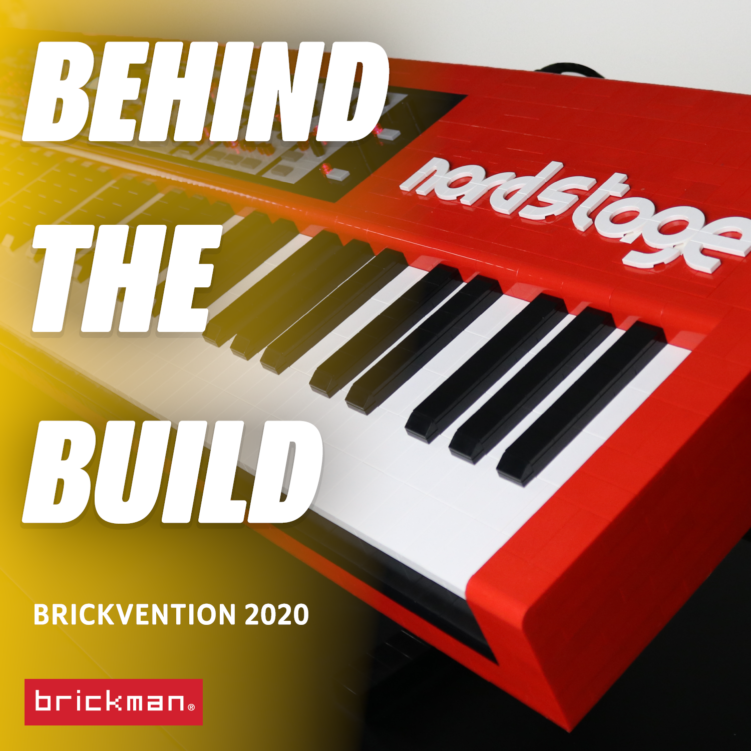Brickvention 2020 Spotlight: LEGO® Brick Nordstage keyboard