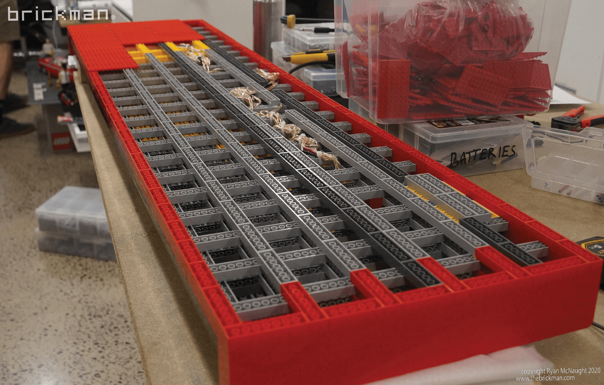LEGO keyboard WIP1