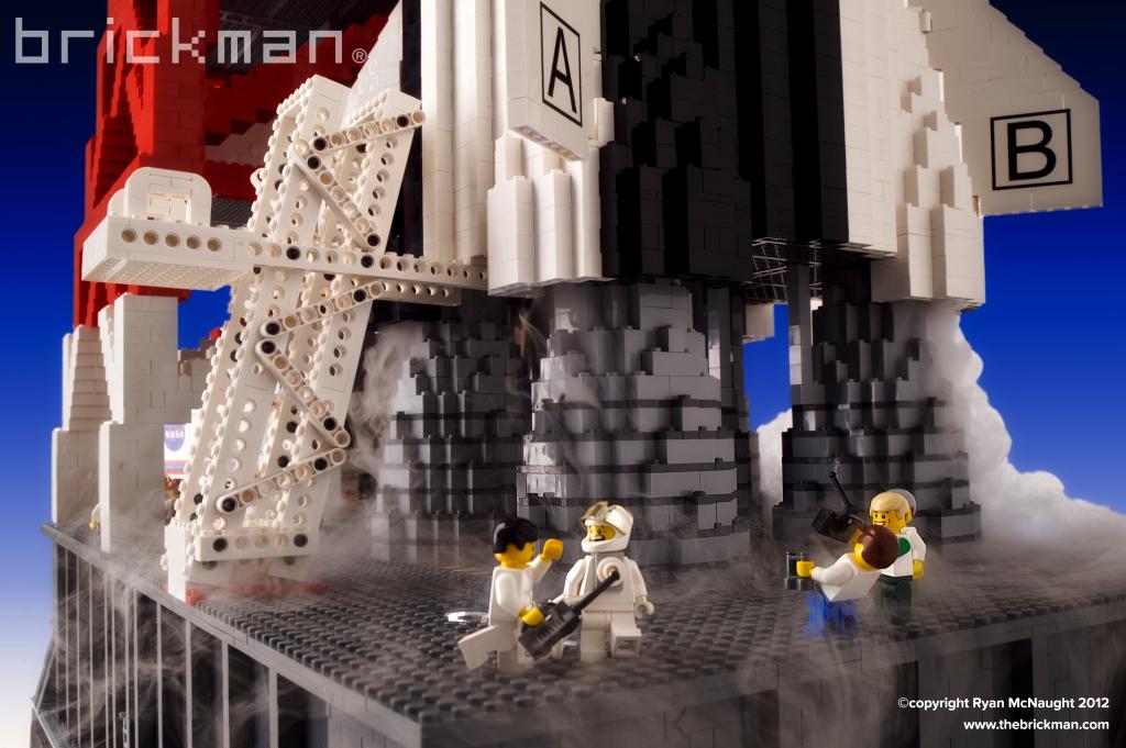 LEGO Saturn V Rocket Astronauts