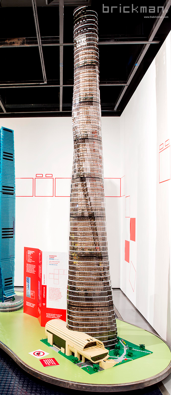 Throwback Thursday: LEGO® brick Shanghai Tower