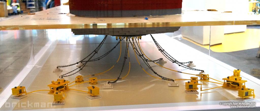 Shell LPG Refinery Ship Display 04