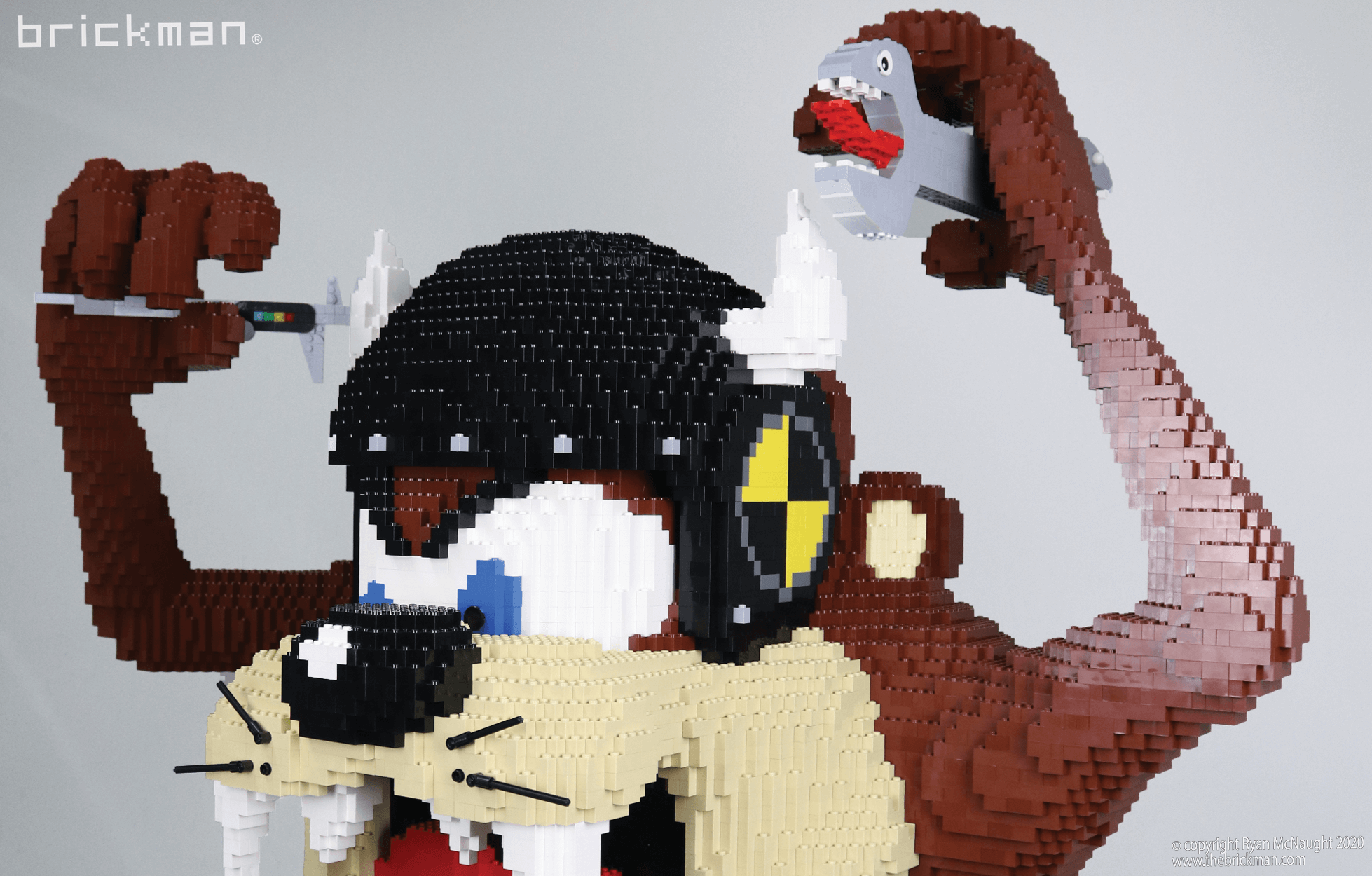 LEGO brick Taz Devil Cash Test Dummy