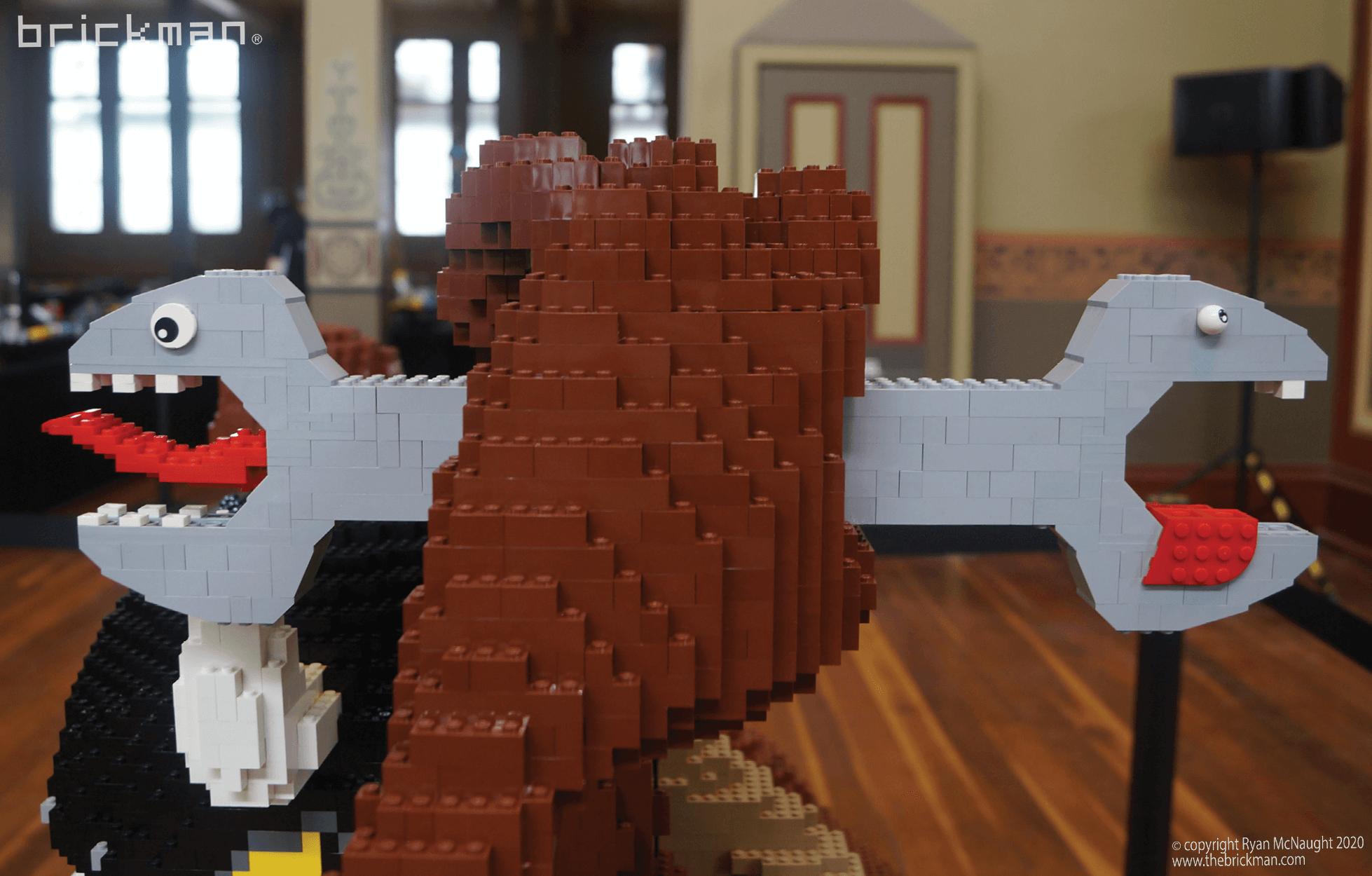 LEGO brick Taz Devil Spanner