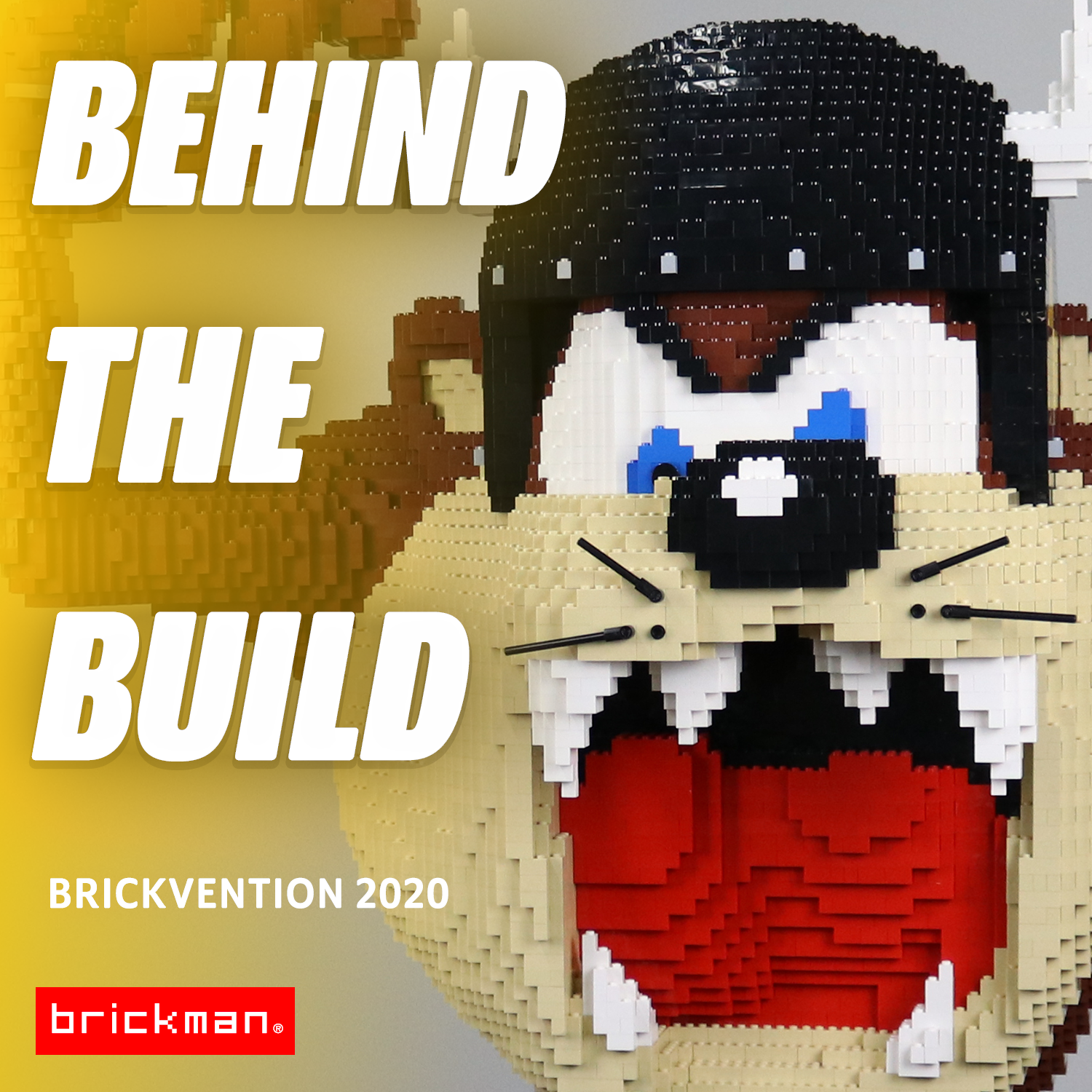 Brickvention 2020 Spotlight: LEGO® brick Taz Devil