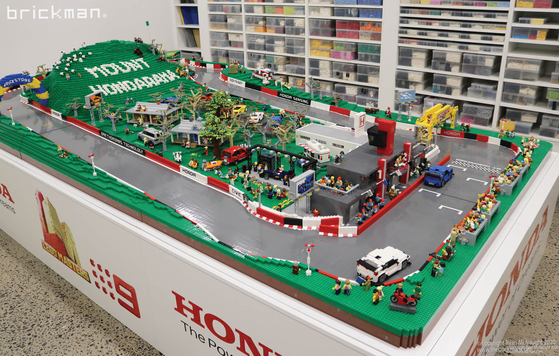 LEGO® brick Mount Hondarama