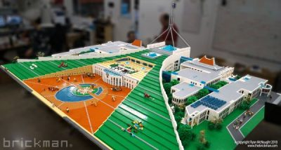 LEGO® brick Parliament House