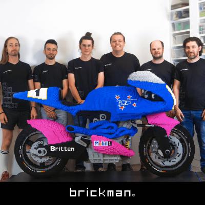 Behind the Build: LEGO® Britten Bike
