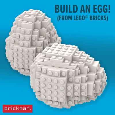 Build your own LEGO egg!