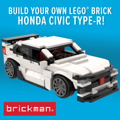 Build your own LEGO brick Honda Civic Type R