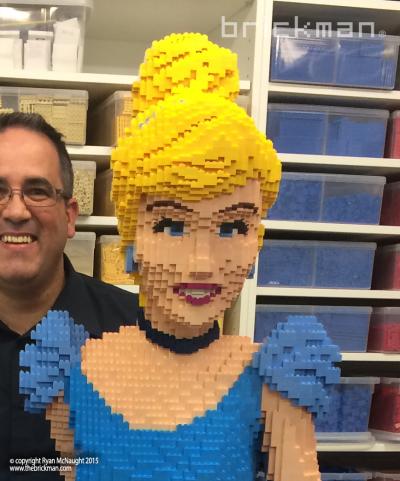 Throwback Thursday LEGO® Brick Cinderella