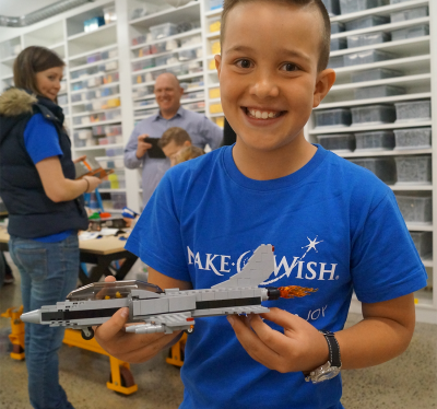 Make-a-Wish Foundation visit