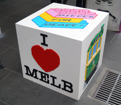 Pieces for Peace Melbourne Bollart