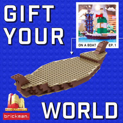 Build your own LEGO Masters Gift Boat!