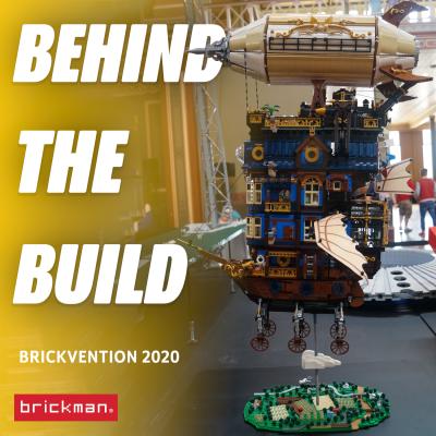Brickvention 2020 Spotlight: LEGO® Brick Steampunk Ship