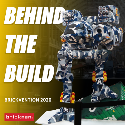 Brickvention 2020 Spotlight: LEGO® Brick Timberwolf Mech