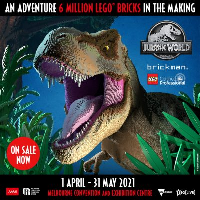 Jurassic World by Brickman Melbourne- Now on Sale!