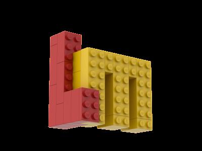 Build your own mini LEGO Masters logo!