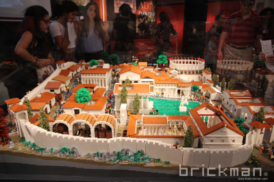Throwback Thursday: LEGO® brick Pompeii
