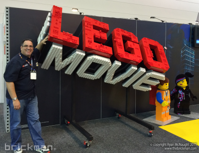 Throwback Thursday LEGO® Movie logo