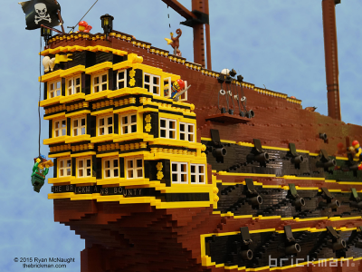 Throwback Thursday LEGO® brick Pirate Ship