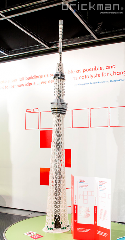 Throwback Thursday: LEGO® brick Tokyo Skytree