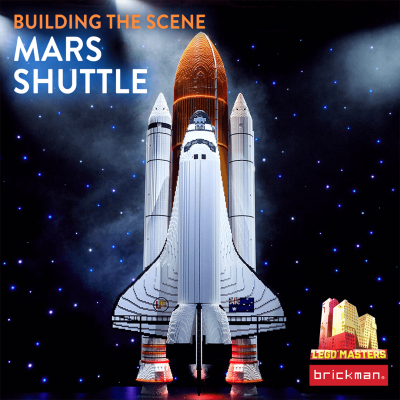 Building the Scene: Mars Shuttle