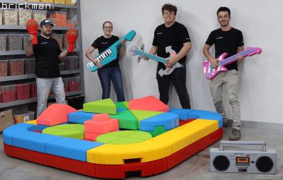 Building for a life-size VIDIYO Beatbox!