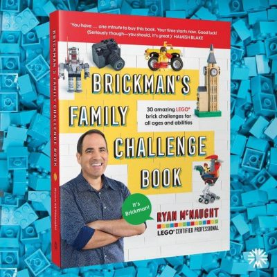 The Brickman Family Challenge Book is out now!