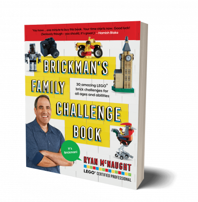 The Brickman Family Challenge Book cover reveal!