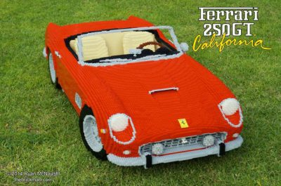 Throwback Thursday: LEGO® Brick Ferrari