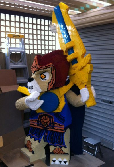 LEGO Laval from the Legends of Chima.