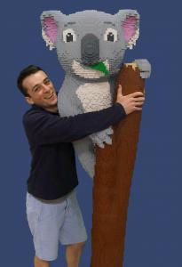 Dreamworld LEGO Koala Luke Cini